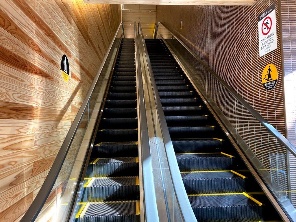 ikegami-station-escalator