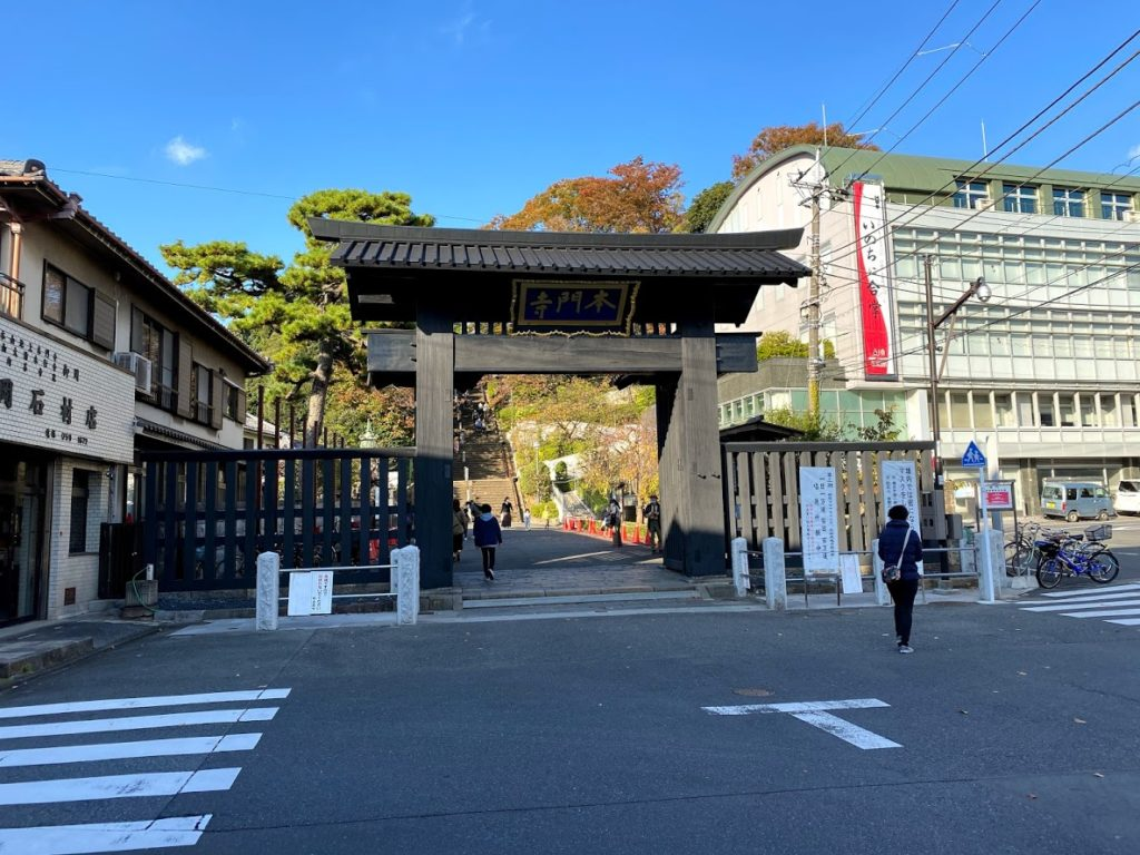 ikegami-station-honmonji