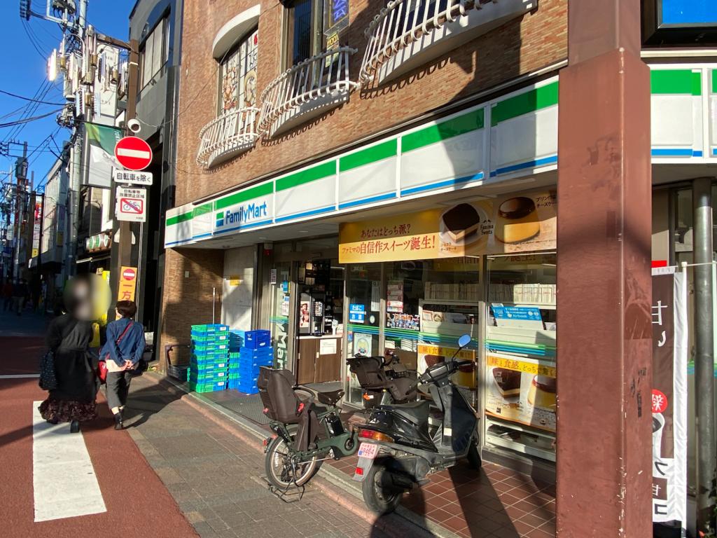 oookayama-station-front-familymart