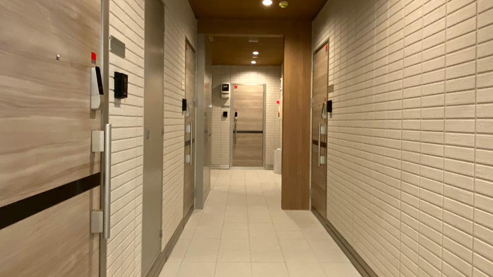 フェリオ大岡山の内廊下