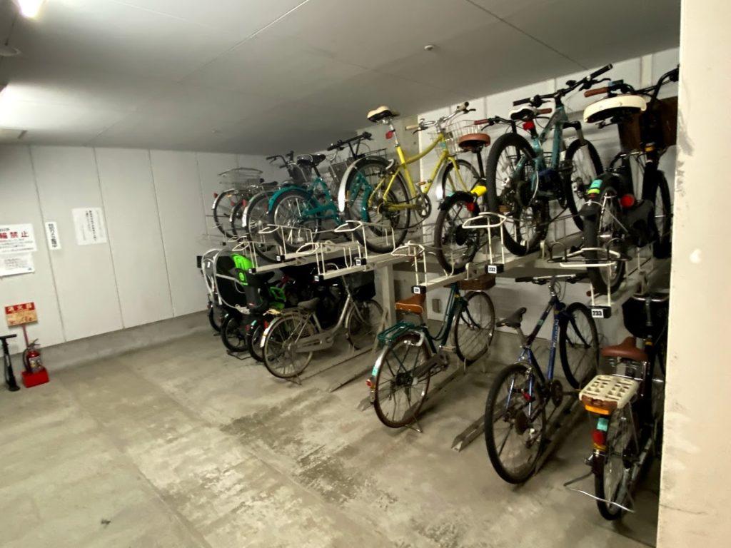 jtower-nishiooi (37)-bicycle-parking