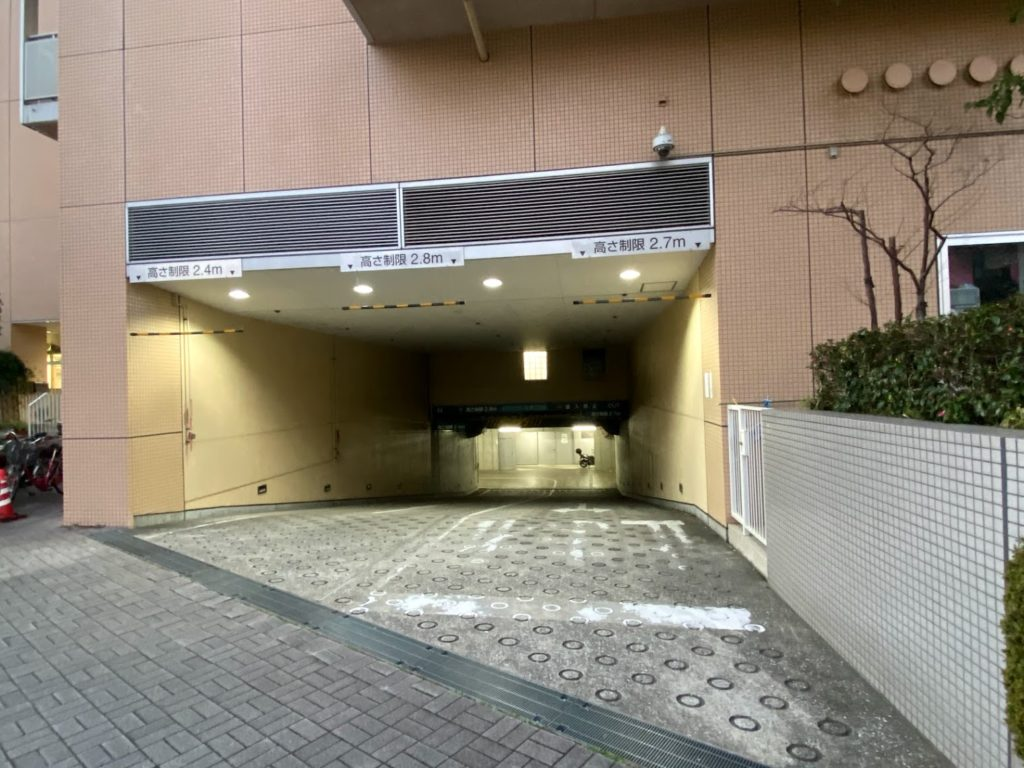 jtower-nishiooi (40)-parking-place