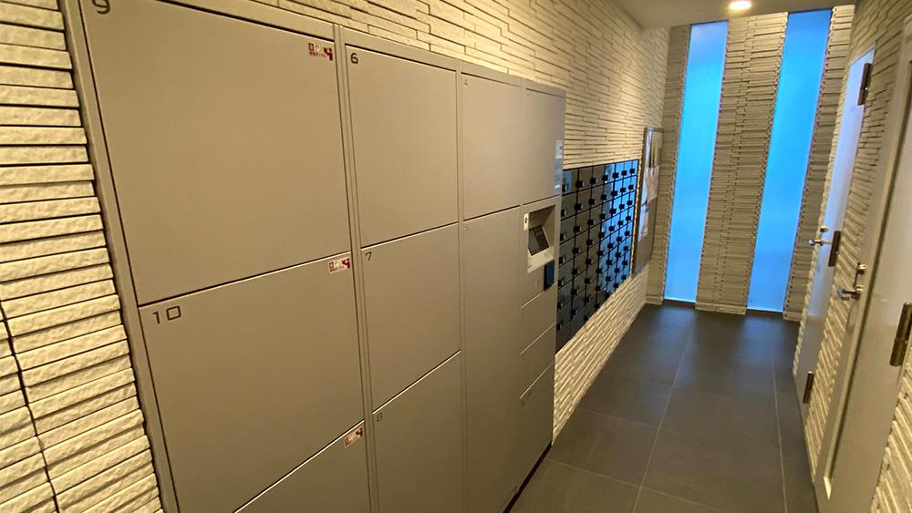ディームス大井町のメールボックスや宅配ボックス
