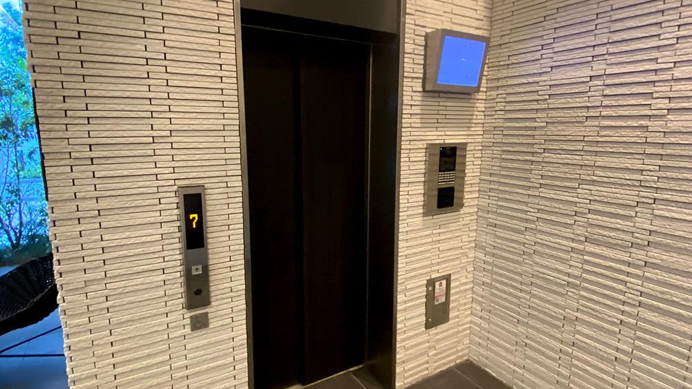 ディームス大井町のエレベーター