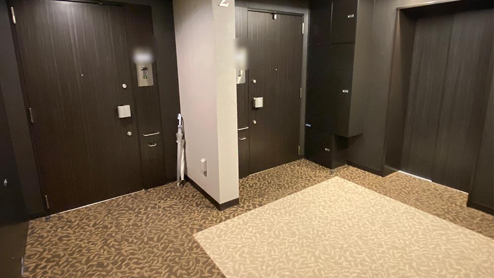 ディームス大井町の内廊下