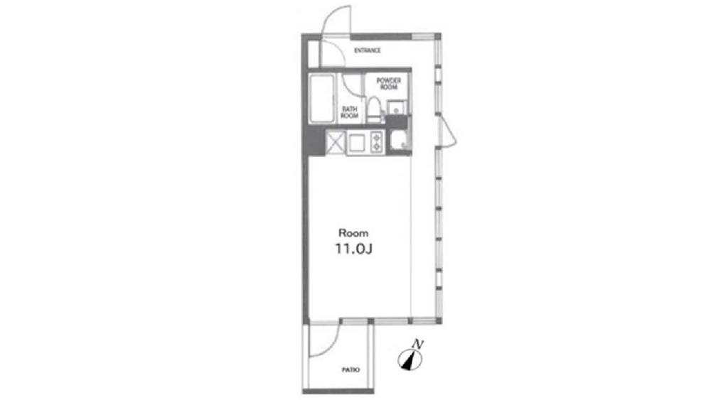g-flat(ジーフラット)の間取図