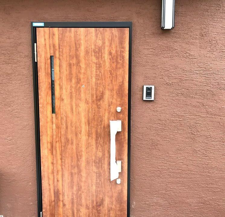 マイハウスの玄関ドア