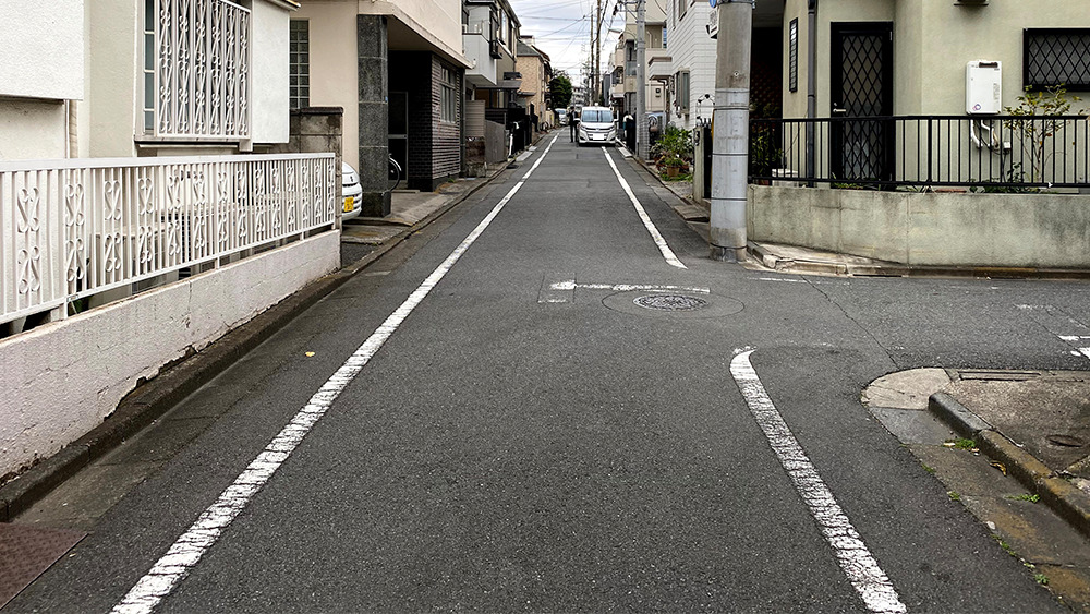 ネクストステージ旗の台周辺の閑静な住宅街