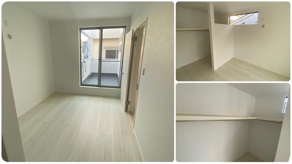 二葉三丁目新築戸建ての2階のマスターベッドルーム