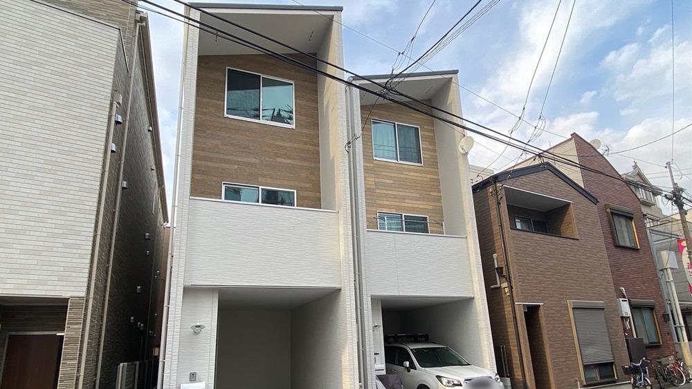 原町2丁目の新築戸建の外観原町2丁目の新築戸建の外観