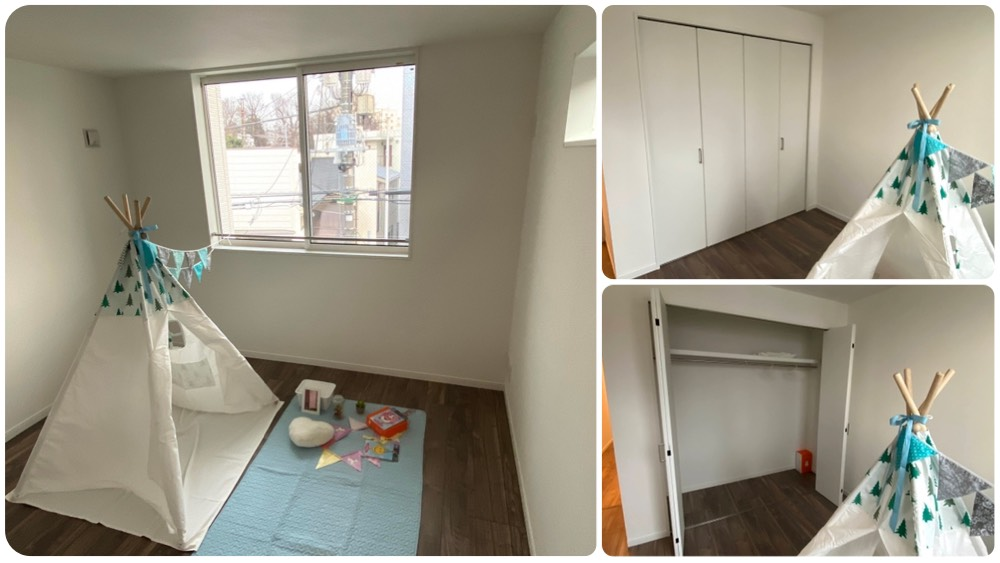 原町2丁目新築戸建のベッドルーム