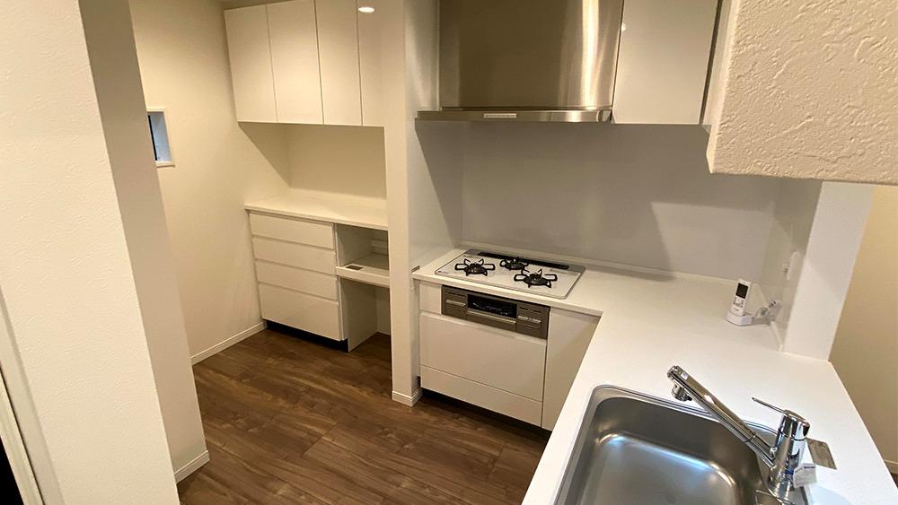 原町2丁目新築戸建の家事動線というコトバを意識した配置