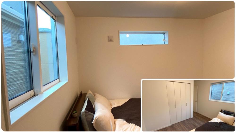 原町2丁目の新築戸建のマスターベッドルーム