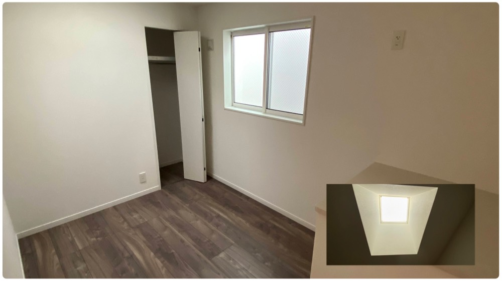 原町2丁目新築戸建の天窓付きのお部屋