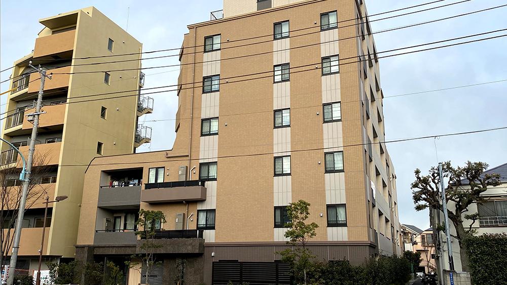 Opus residence meguro senzoku(オーパスレジデンス目黒洗足)の外観
