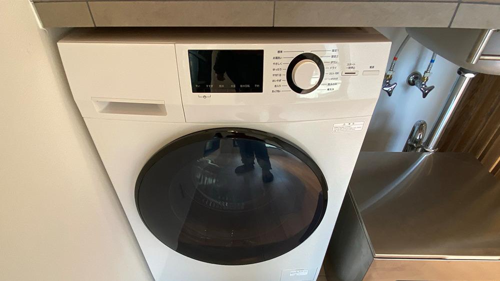 プロト大岡山の洗濯乾燥機