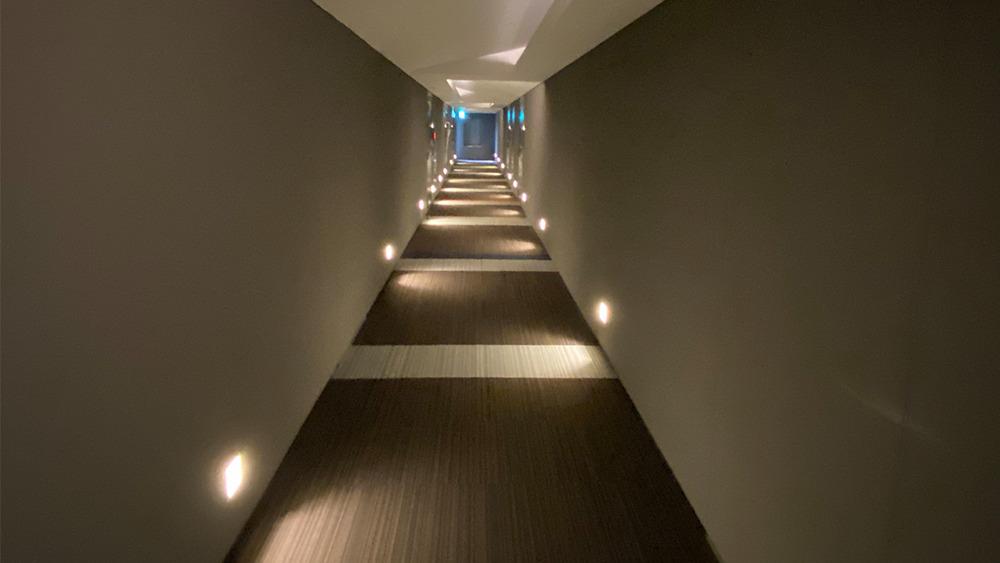 プラウドフラット戸越公園の内廊下