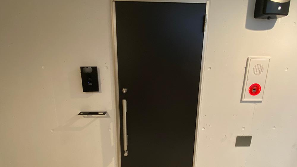 ステラ北千束の玄関ドアです