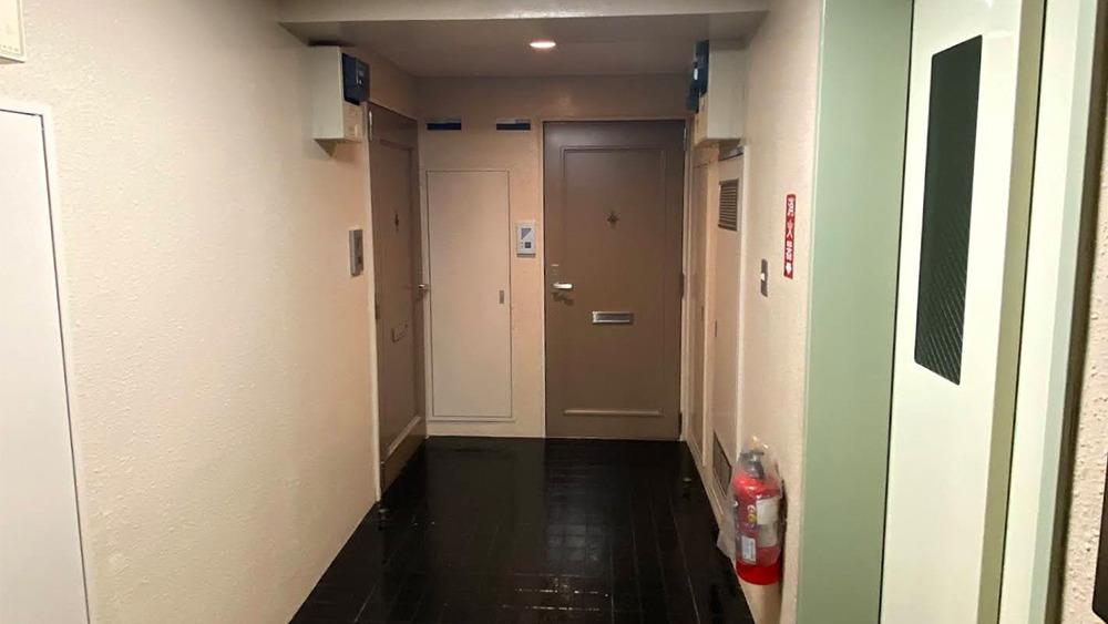 ストーク中延の廊下