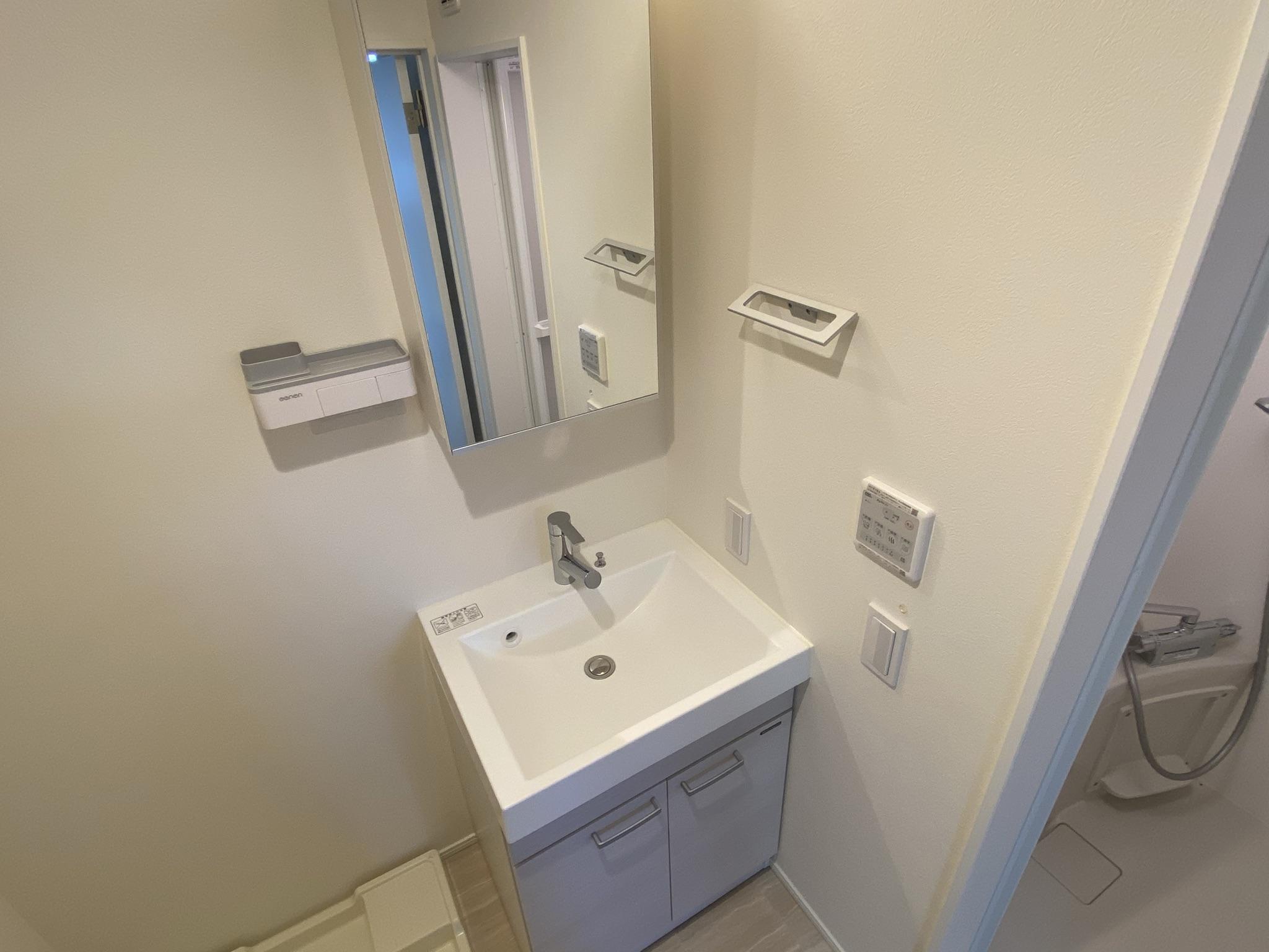 グランエッグス品川中延の独立洗面化粧台