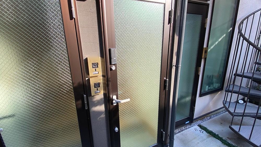 グランエッグス品川中延の玄関扉
