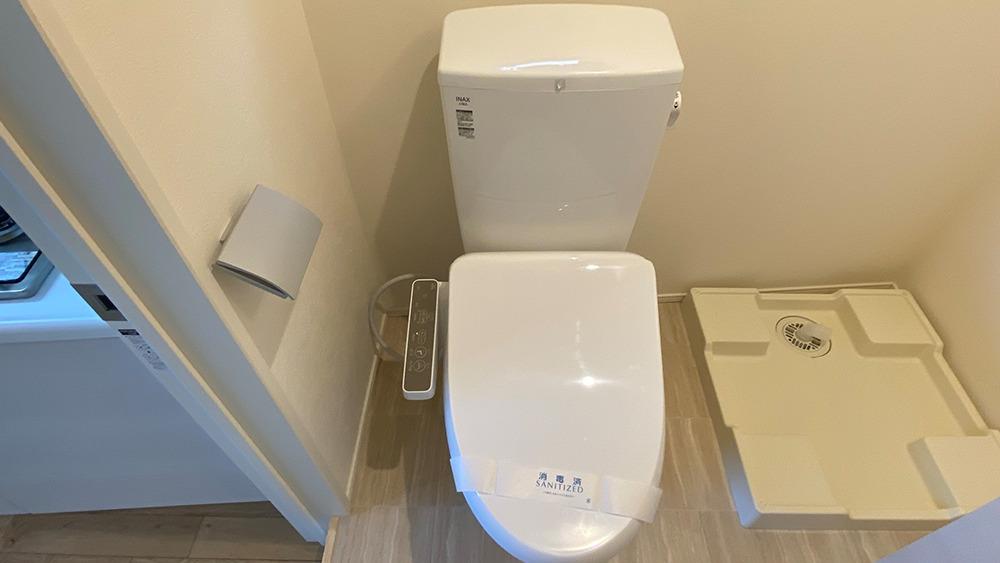 グランエッグス品川中延のウォシュレット付トイレ